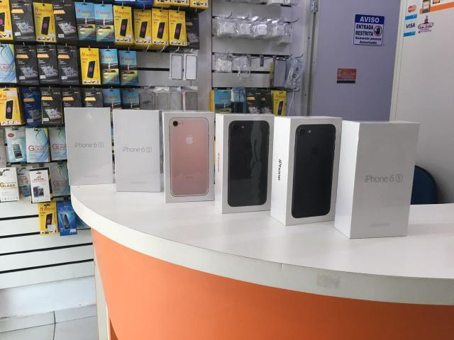IPhone 7 de 32gb e 128gb preto fosco, lacrado!