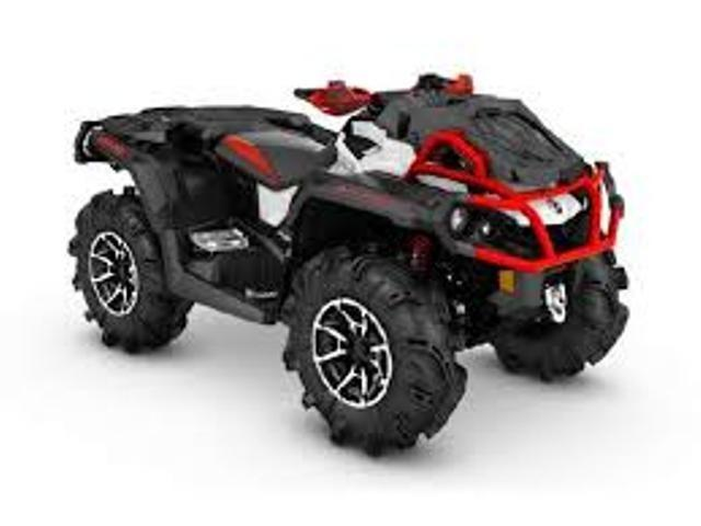 Brp Can-am Quadriciclo Outlander Xmr 1.000 . 2017
