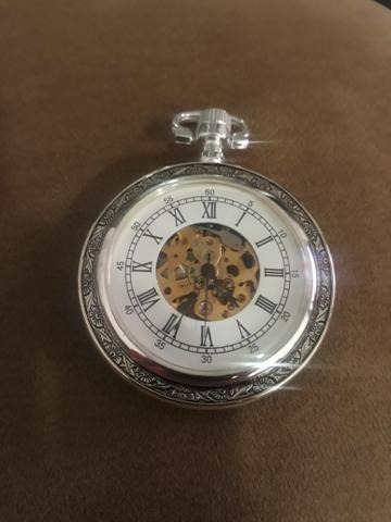 a9ae2bbf414 Relógio de bolso à corda novo sem uso - Bijouterias