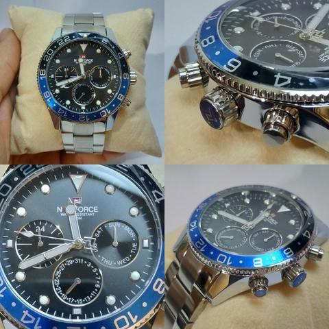 c970fc71e64 Relógio Naviforce Luxo (estilo Relox) - Bijouterias