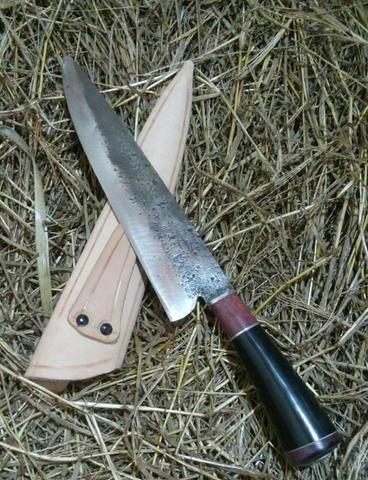Faça bonito em seu churrasco! tradicional faca campeira gaúcha