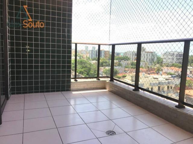 Apartamento com 3 dormitórios à venda, 126 m² por r$ 680.000 - jatiúca - maceió/al - Foto 15