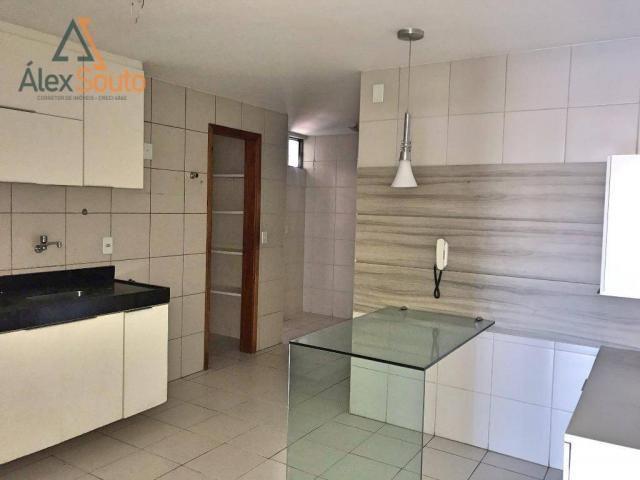 Apartamento com 3 dormitórios à venda, 126 m² por r$ 680.000 - jatiúca - maceió/al - Foto 17