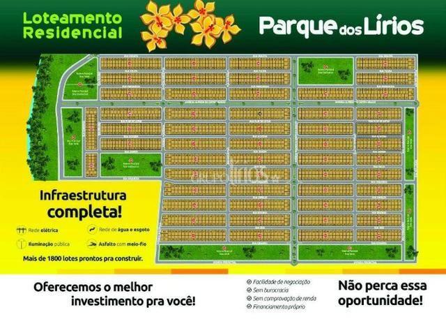 Loteamento residencial Parque dos Lirios - Rondonópolis/MT