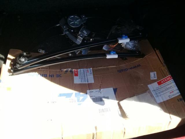 Kit vidro elétrico dianteiro Clio 4 portas - Foto 2
