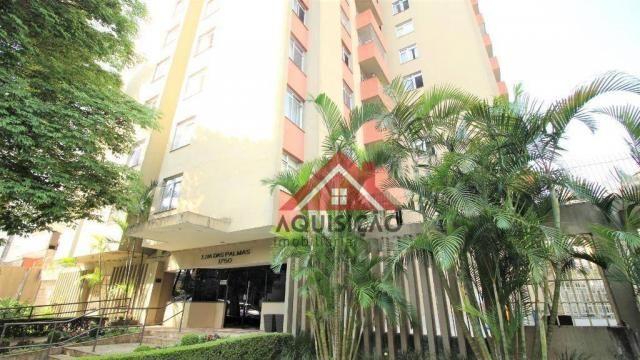 Apartamento com 3 dormitórios à venda, 87 m² por R$ 369.990,00 - Bigorrilho - Curitiba/PR