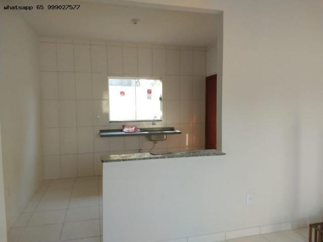 Casa para venda em várzea grande, santa isabel, 2 dormitórios, 1 banheiro, 2 vagas - Foto 7