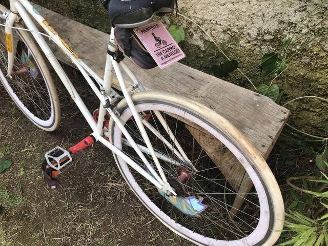 Bicicleta roda fixa ou livre