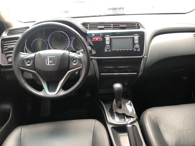 Honda city 1.5 flex exl aut 15/15 - Foto 8