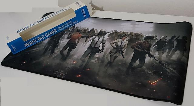 MousePad Mouse Pad Gamer Extra Grande 70X35cm Tema Battlegrounds PUBG - Foto 5