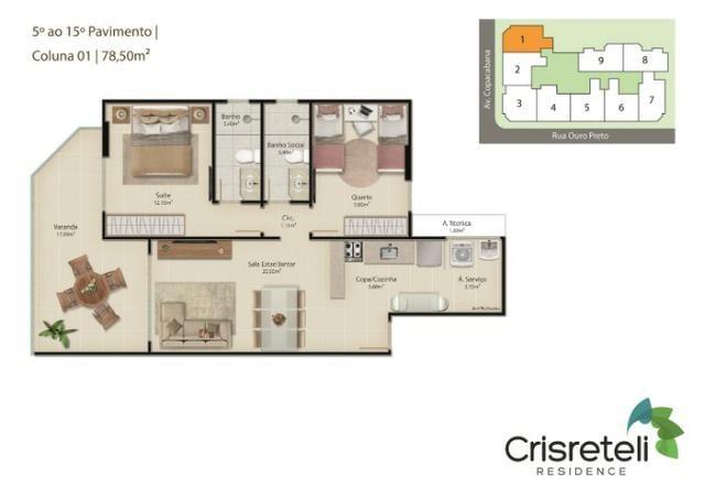 Lançamento apartamentos de 2 quartos na Praia do Morro - Foto 3