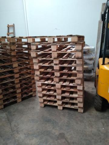 Pallets de madeira PBR