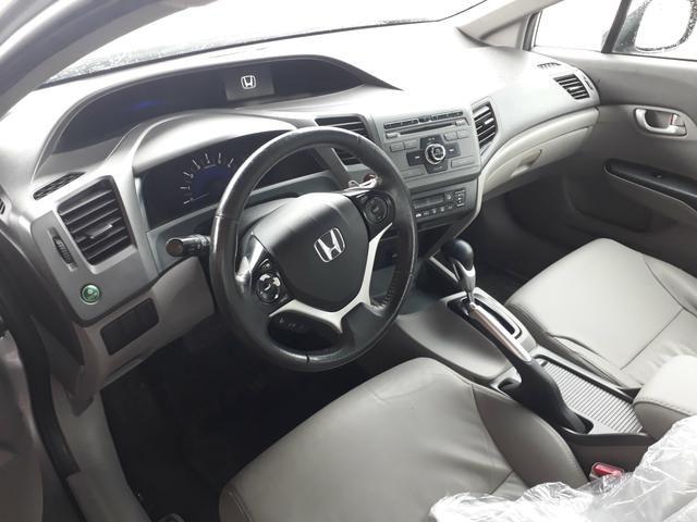 Civic lxr 2.0 automático ano 2014 completao com garantia e ipva quitado - Foto 10