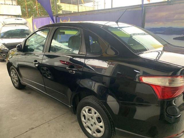 Fiat grand siena tetra ex taxi 2014, aprovação imediata, s/ comprovação de renda!!!! - Foto 5