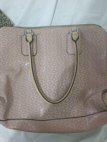 Bolsa rosa original guess - Foto 2