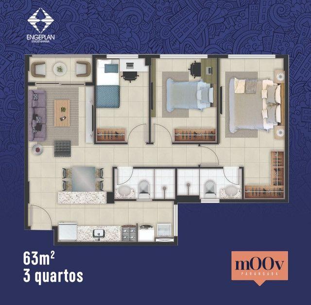 Apartamento na Parangaba a 500 m do shopping e terminal.  - Foto 4