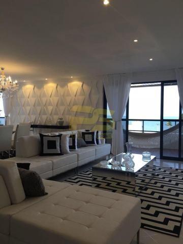 Apartamento à venda com 4 dormitórios em Cabo branco, João pessoa cod:PSP42 - Foto 3