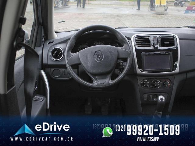 Renault Sandero Expression Flex 1.6 16V 5p - Carro Muito Novo - Lindo - Faço Troca - 2019 - Foto 12