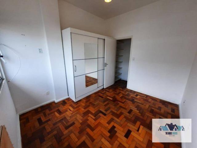Excelente Apartamento com 1 dormitório 2 banheiros  para alugar, 50 m² por R$ 1.100/mês -  - Foto 4
