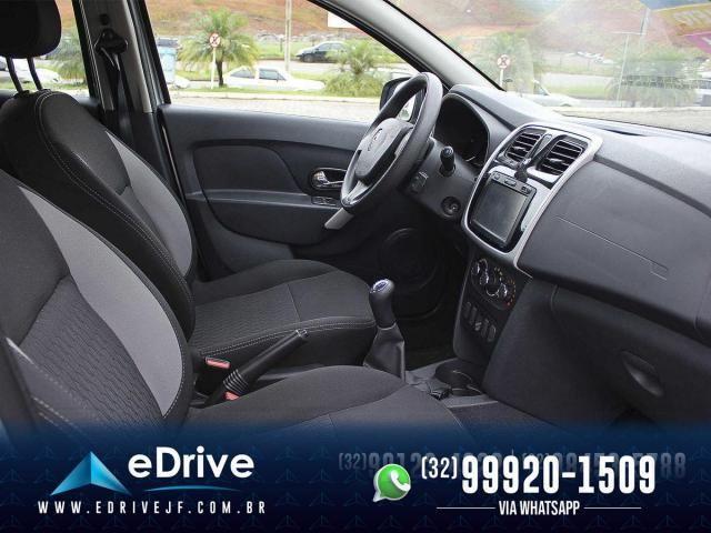 Renault Sandero Expression Flex 1.6 16V 5p - Carro Muito Novo - Lindo - Faço Troca - 2019 - Foto 18
