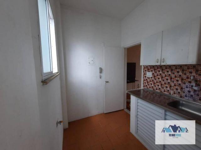 Excelente Apartamento com 1 dormitório 2 banheiros  para alugar, 50 m² por R$ 1.100/mês -  - Foto 8