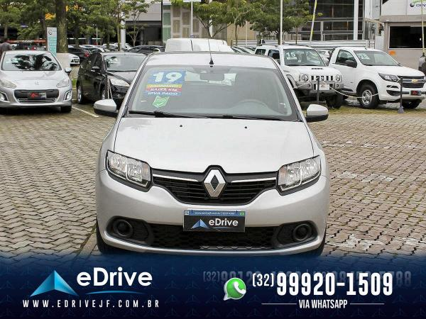 Renault Sandero Expression Flex 1.6 16V 5p - Carro Muito Novo - Lindo - Faço Troca - 2019 - Foto 2