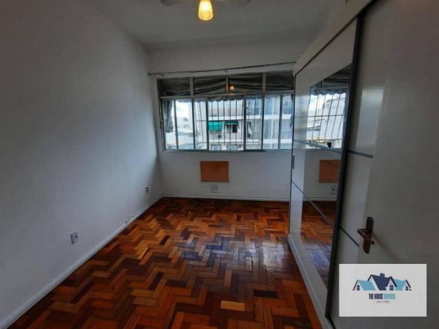Excelente Apartamento com 1 dormitório 2 banheiros  para alugar, 50 m² por R$ 1.100/mês -  - Foto 3