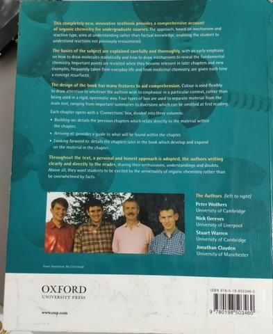 Livro ORGANIC CHEMISTRY - Foto 2