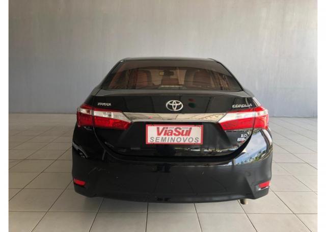 Toyota Corolla Xei 2.0 16V Cvt Flex - Foto 4
