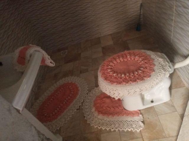 Jogo banheiro 5 pecas 140.00 ou modelo mais básico por 100.00 - Foto 4