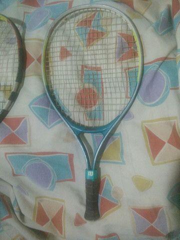 2 Raquetes para tênis de quadra - Foto 2