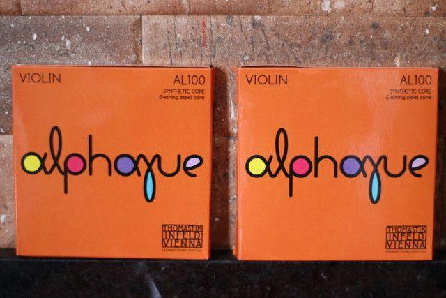 Jogo de Corda Alphayue Thomastik para Violino - Foto 4