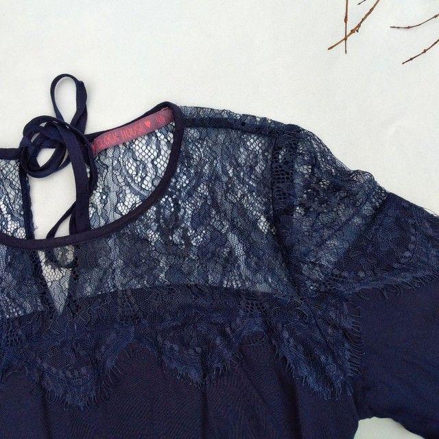 Blusa azul marinho da C&A - Foto 5