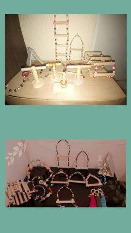 Brinquedos e acessórios para aves em geral - Foto 3