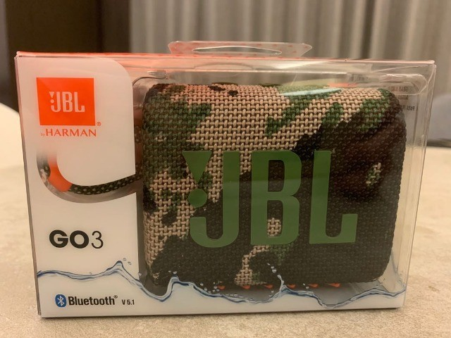 Caixa de Som Portátil JBL Go3 Com Bluetooth - Foto 4