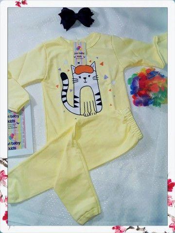 Pijamas menino é menina - Foto 4
