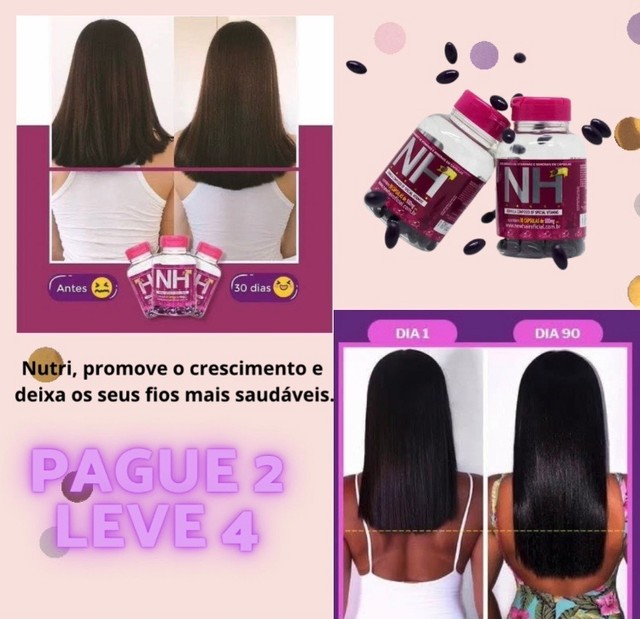 COMBO NEW HAIR - PAGUE 2 LEVE 4