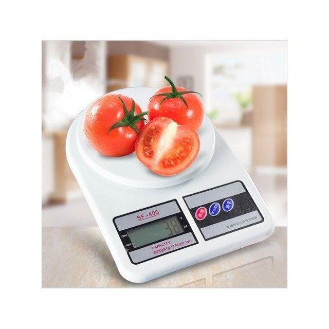 Balança Digital Cozinha 10kg Alta Precisão Alimento Dieta                    - Foto 3