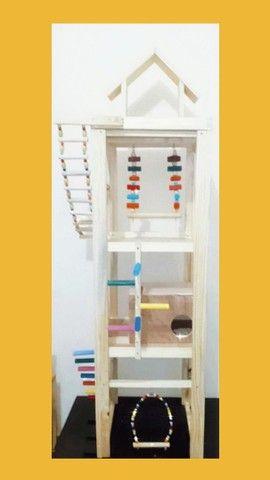Brinquedos e acessórios para aves em geral - Foto 6