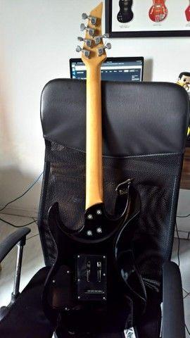 Vendo Guitarra Tagima T6 Preta + Bag - Foto 2