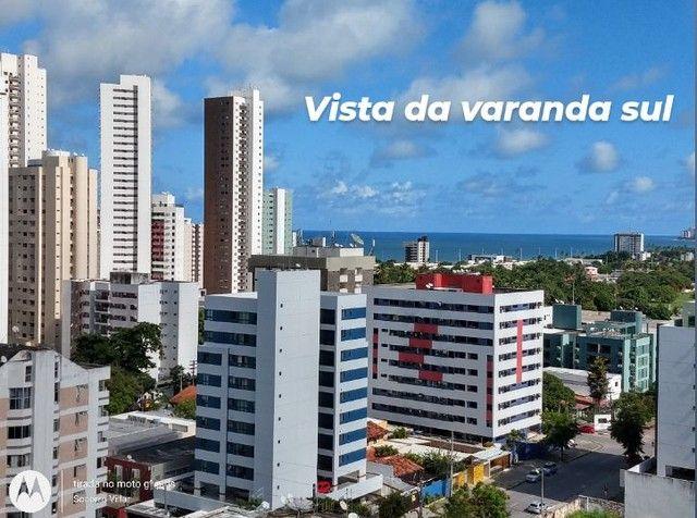 Saia do aluguel andar alto vista definida 2 qts + suíte Setúbal Recife PE - Foto 12