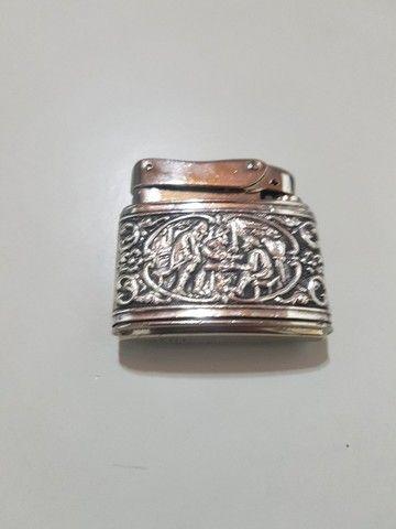 Isqueiro Myiflam em prata
