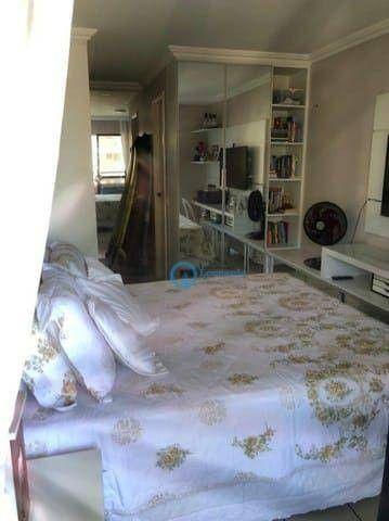 Apartamento com 3 dormitórios à venda, 74 m² por R$ 420.000 - Cocó - Fortaleza/CE - Foto 9