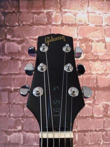 Guitarra Gibson L6-S 1974 USA com case - Foto 3