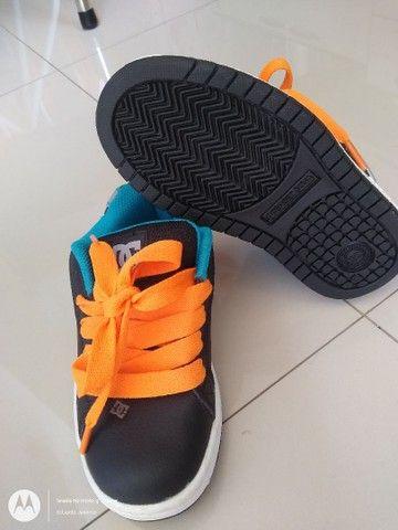 Tênis DC Shoes infantil - Foto 4