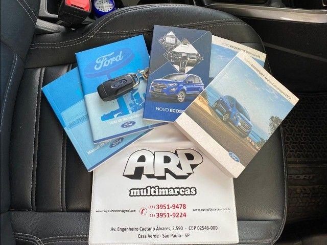 Ford EcoSport  se 1.,5 preta flex 2018 com multimidia - Foto 13