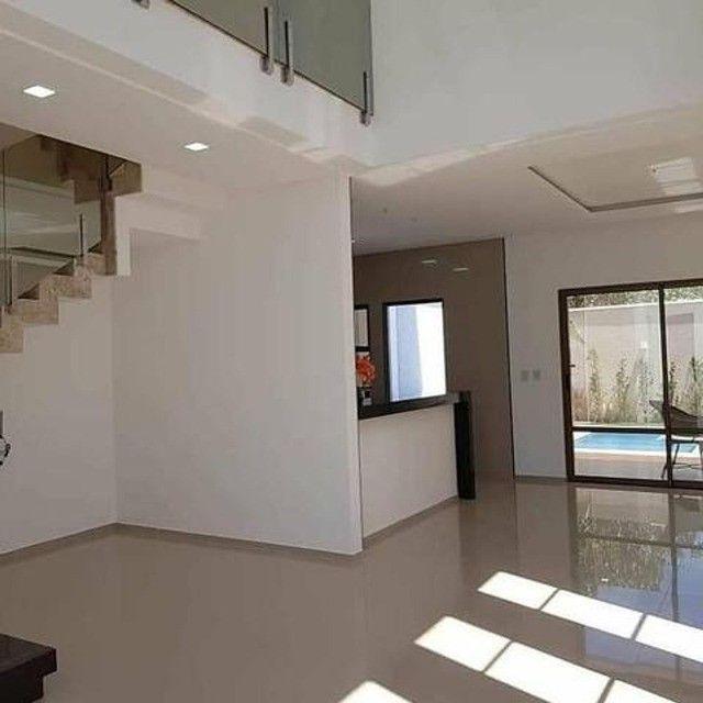 Casa com piscina em rua privativa, casa nova nunca habitada #ce11 - Foto 8