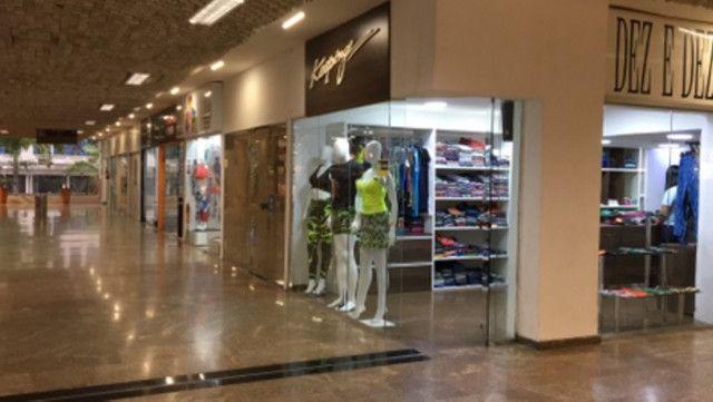 Alugo Loja Shopping Parque Balneário Gonzaga Santos - Foto 3