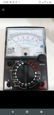 Multimetro analógico todos novos a pronta entrega