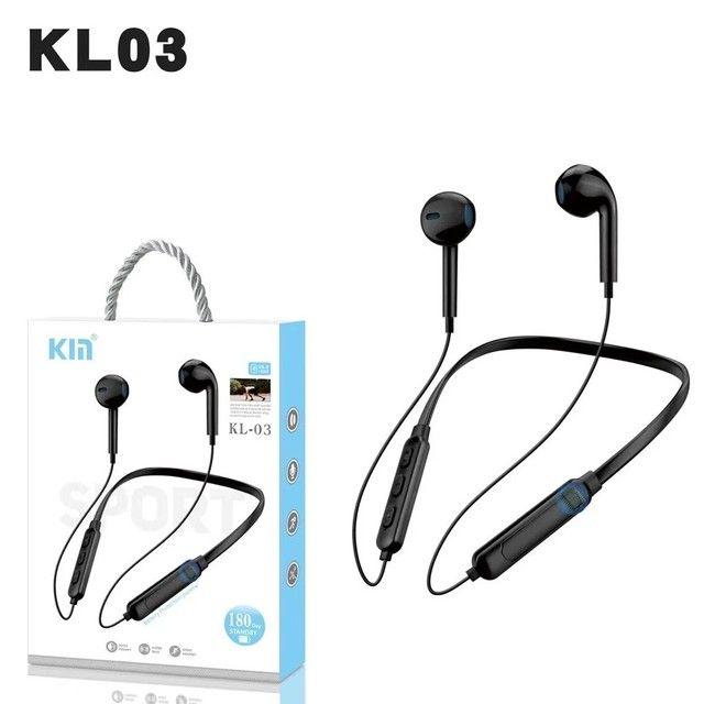 Fone De Ouvido Magnético Bluetooth Estereo Sem Fio